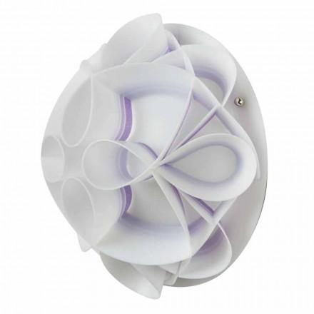 Vägglampa med modern design kupol, diameter 28 cm, Lena