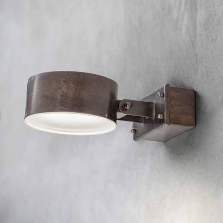 Mässingsvägglampa Tillverkad i Italien - Acelum Aldo Bernardi