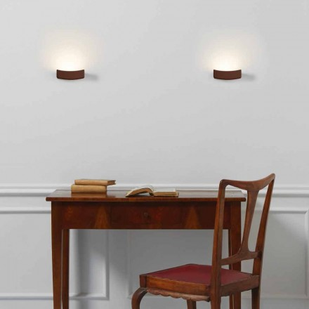 Lampa modern design stålvägg 13xH 3.5x Sp.10 cm Osea