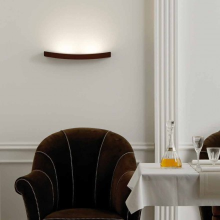 Lampa modern design stålvägg L50x H3,5xSp.10 cm Eldora