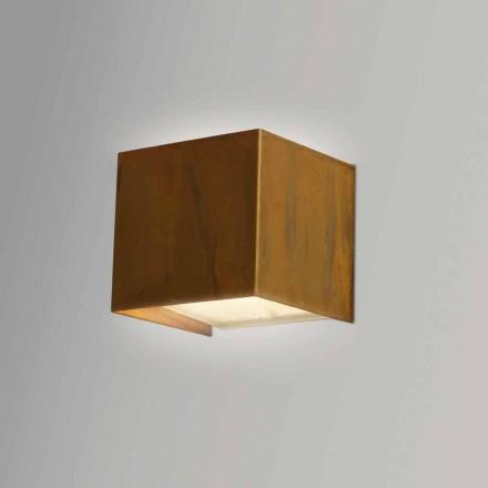 Vägglampa i modern design Brass 9x 9x H sp.9 cm Venus