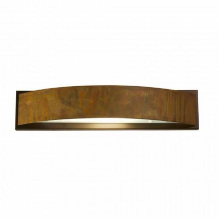 Vägglampa i mässing och stål H 49x 10 cm xsp.9 Blandine