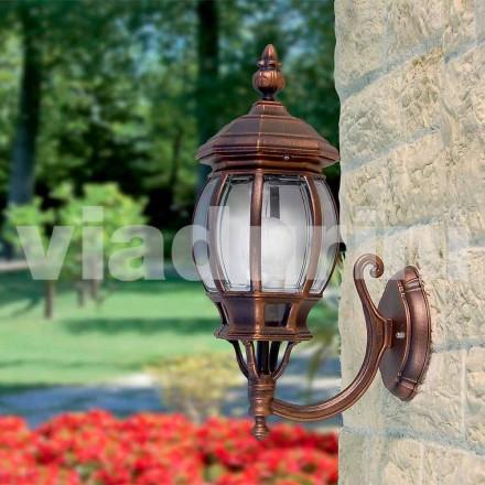 Utomhuslampa tillverkad av aluminium, tillverkad i Italien, Anika