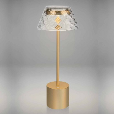 Design Touch Led bordslampa i metall och akryl - Tagalong