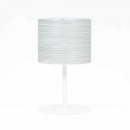 Bordslampa med modern design dekoration, diameter 30 cm, Debby
