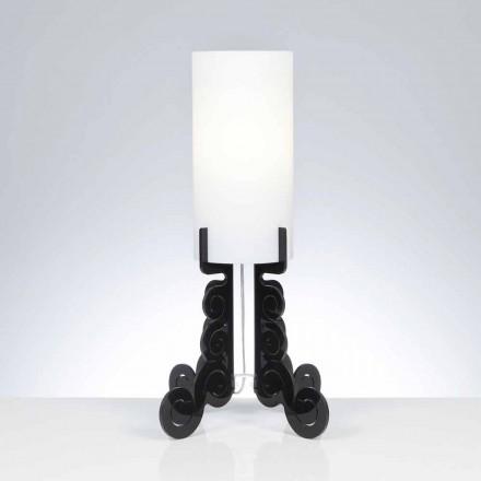 Bordslampa med en cylindrisk lampskärm, diameter 26,5 cm, Samanta