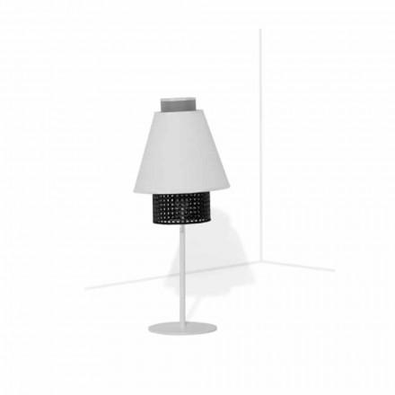 Bordslampa med metallkonstruktion Modern design tillverkad i Italien - sjöman