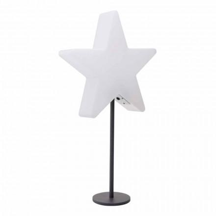 Modern design bordslampa, stjärna med eller utan piedestal - Littlestar