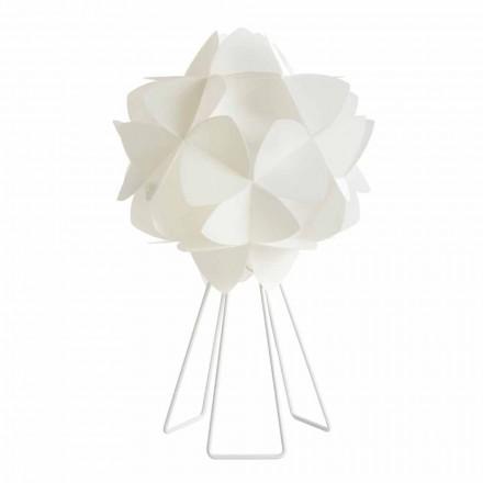 Bordslampa modern pärla vit design, diameter 46 cm Kaly