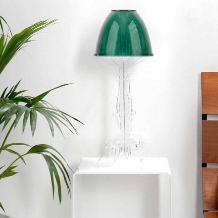 Liberty designläsning / bordslampa med plexiglasbas, Caneva