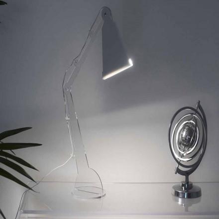 Tecno-stil bord / läslampa med LED-lampa, Flero