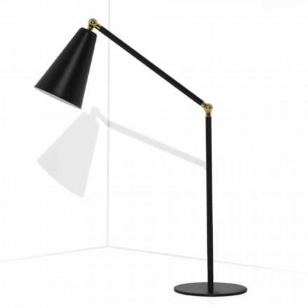 Modern bordslampa med metallkonstruktion tillverkad i Italien - Zaira
