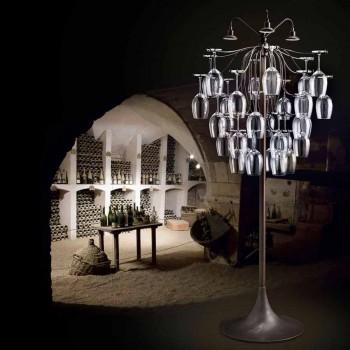 golvlampa 30 glas upp och Sauvignon