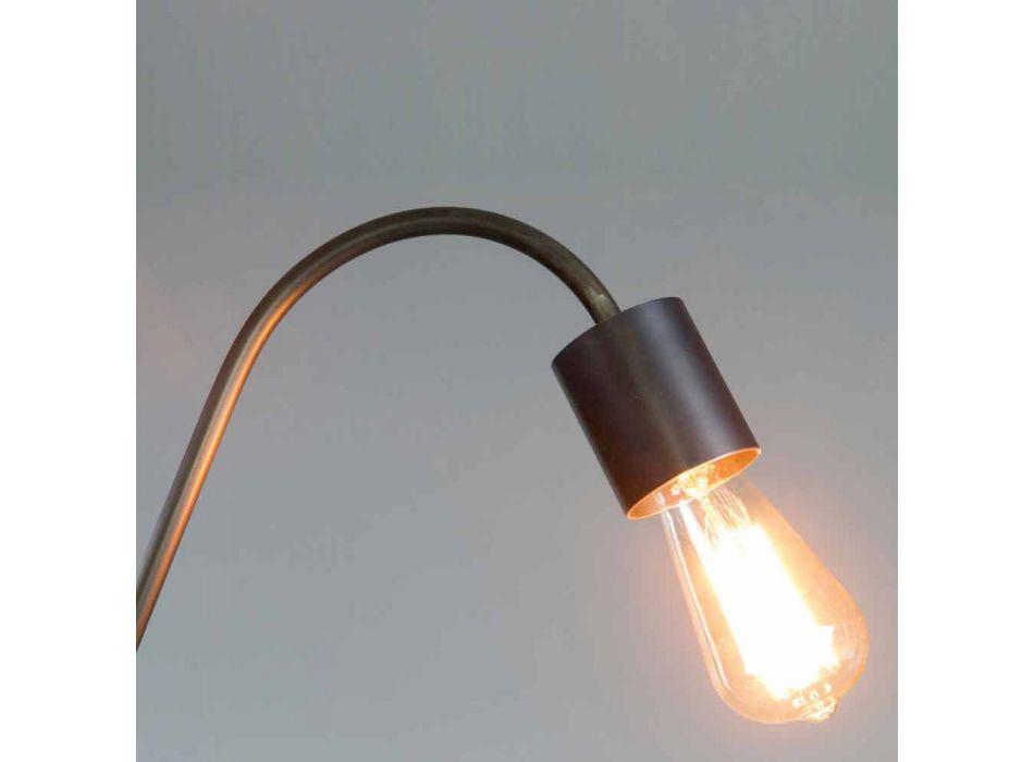 Artisan Design golvlampa i svart järn tillverkad i Italien - Curva