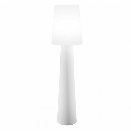 Färgad golvlampa Design, Solar eller E27 utomhus och inomhus - Fungostar