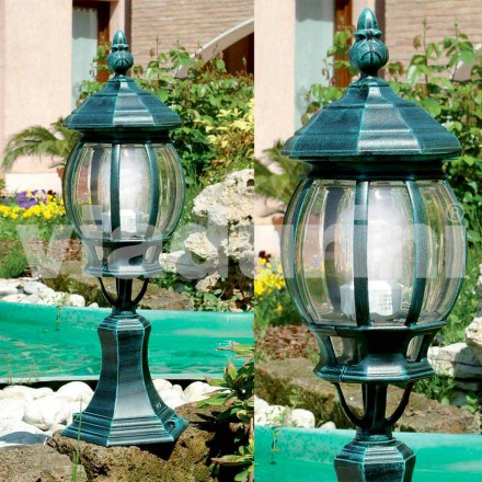 Trädgårdslampa tillverkad av aluminium, tillverkad i Italien, Anika