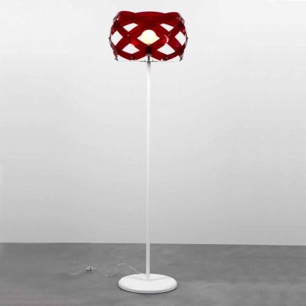 Golvlampa modern design i Vanna metakrylat, H 187 cm