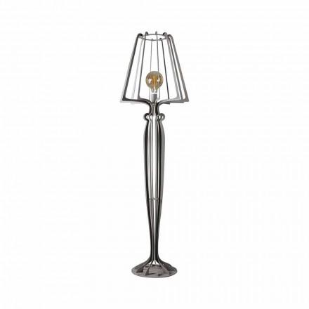 Modern design järngolvlampa tillverkad i Italien - Giunone