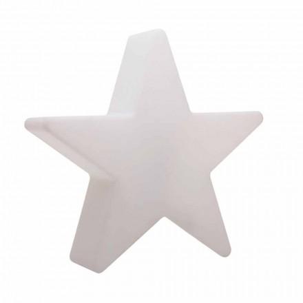 Vit eller röd stjärnformad golvlampa, modern design - Ringostar