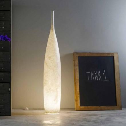 Modern design H142cm golvlampa In-es.artdesign Tank 1 färgad