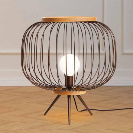 Lampa Modern design slipat stål 48xH 52 cm Leira