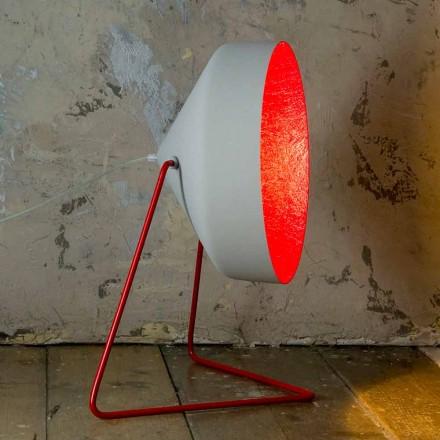 Design golvlampa In-es.artdesign Cyrcus F Målad betong