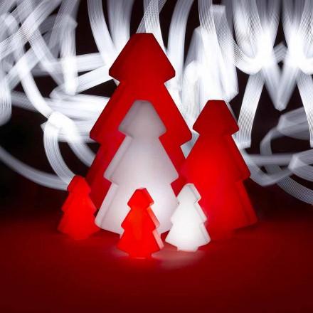 Dekorativ utomhus lampa Slide Lightree julgran gjord i Italien