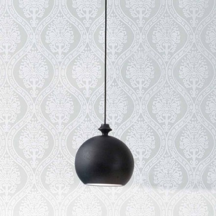 keramiska lampa Lustri 5 Aldo Bernardi, med rosett 1 utgång.