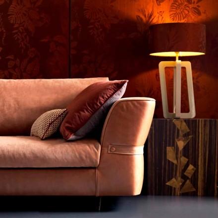 Bordslampa i massivt lackerat trä Grilli Barnaby gjorde Italien