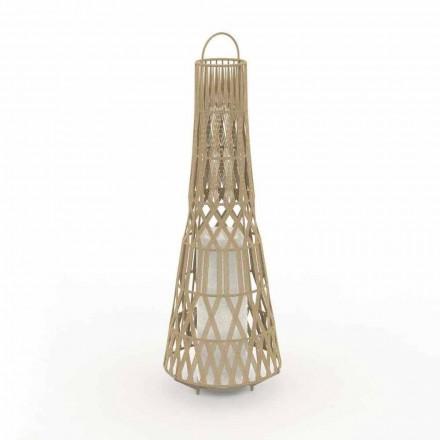 Led Design trädgårdslampa i rep, 3 storlekar - Tribal av Talenti