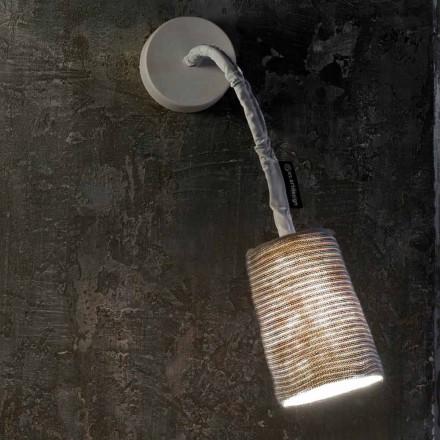 Modern vägglampa In-es.artdesign Måla En Stripe Nebulite och ull