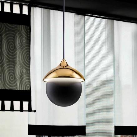 modern lampa keramisk suspension Den Lustri 9