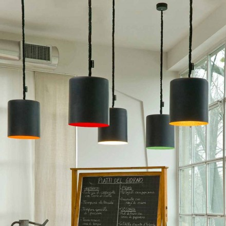 Modern hänglampa In-es.artdesign Bin Resin blackboard