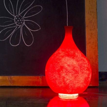 Moderna bordslampa In-es.artdesign Luce2 ljus i nebulit
