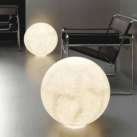 Moderna sfäriska bordslampa In-es.artdesign Golv Moon nebulite