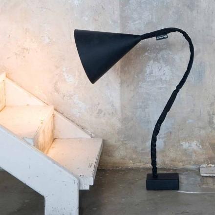 Moderna golvlampa In-es.artdesign Blåharts svarta tavlan