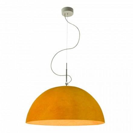 Modern lampa In-es.artdesign Mezza Luna Suspenderad nebulit
