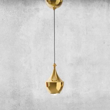 LED-upphängd keramisk lampa tillverkad i Italien - Lustrini L3 Aldo Bernardi
