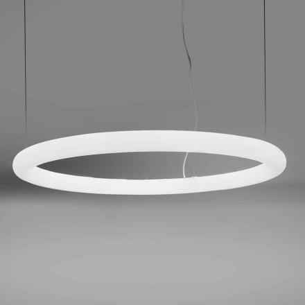 Modern rund upphängningslampa i polyeten Tillverkad i Italien - Slide Giotto