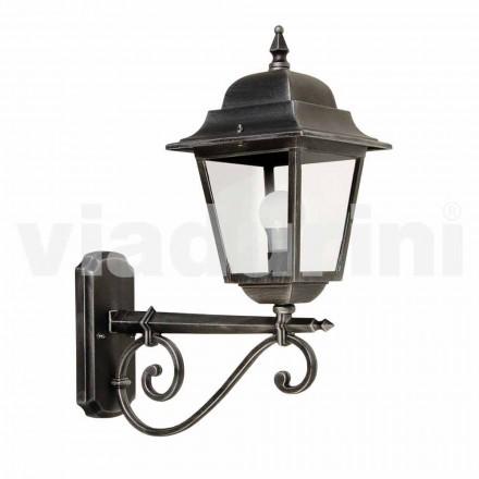Utomhuslampa tillverkad av aluminium, tillverkad i Italien, Aquilina