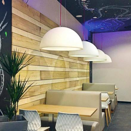 Färgad fjädringslampa Slide Cupole polyeten tillverkad i Italien