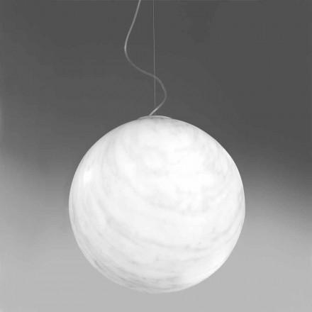 Modern hänglampa i polyeten Slide Mineral