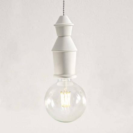 Shabby Chic keramisk hängande lampa - öde av Aldo Bernardi