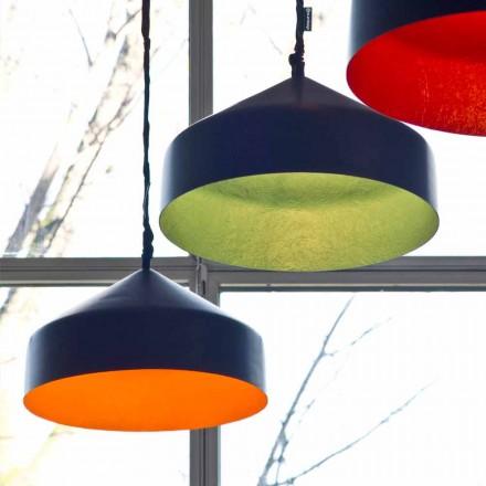 Suspenderad designlampa In-es.artdesign Cyrcus Resin blackboard