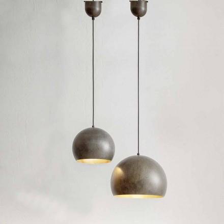Hängande lampa i ståldiameter 300 eller 400 mm - Materia Aldo Bernardi