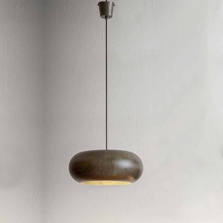 Hängande lampa i ståldiameter 500 mm - Materia Aldo Bernardi