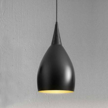 Modern hängande lampa i aluminium tillverkad i Italien - Cappadocia Aldo Bernardi