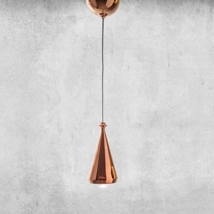 Design LED-upphängd lampa i keramik - Lustrini L2 Aldo Bernardi