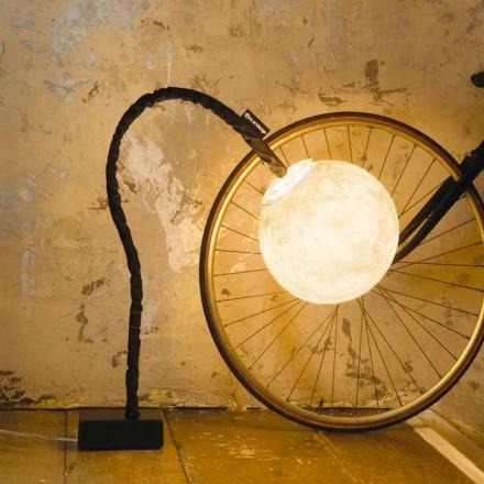 Flexibel golvlampa In-es.artdesign Micro Luna nebulite