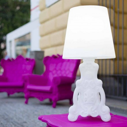 Slide Lady of Love bordslampa med ljus design gjord i Italien
